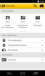 Post mobil- screenshot thumbnail