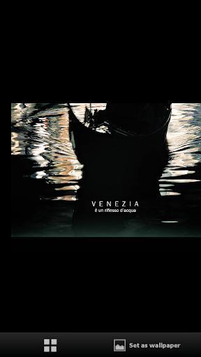 Venezia è un riflesso d'acqua