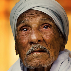 Eye Praying Too !!! by Ahmed Yousry - People Portraits of Men ( face, challenge, portrait photographers, pray, portrait,  )