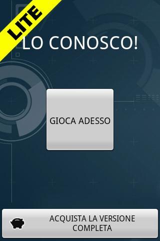 LO CONOSCO! (Free)- screenshot