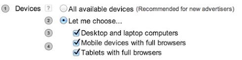 Devices - Let me choose...