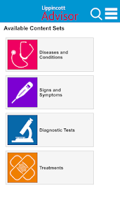 Lippincott Nursing Advisor- screenshot thumbnail