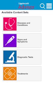 Lippincott Nursing Advisor - screenshot thumbnail