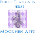 Purple Diamonds logo