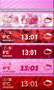 Valentine's Day Weather Widget screenshot 2