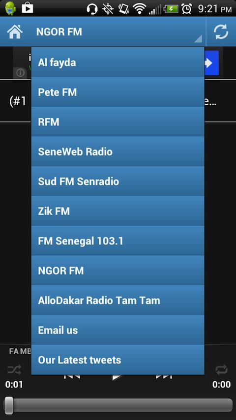 Senegal Radios - screenshot