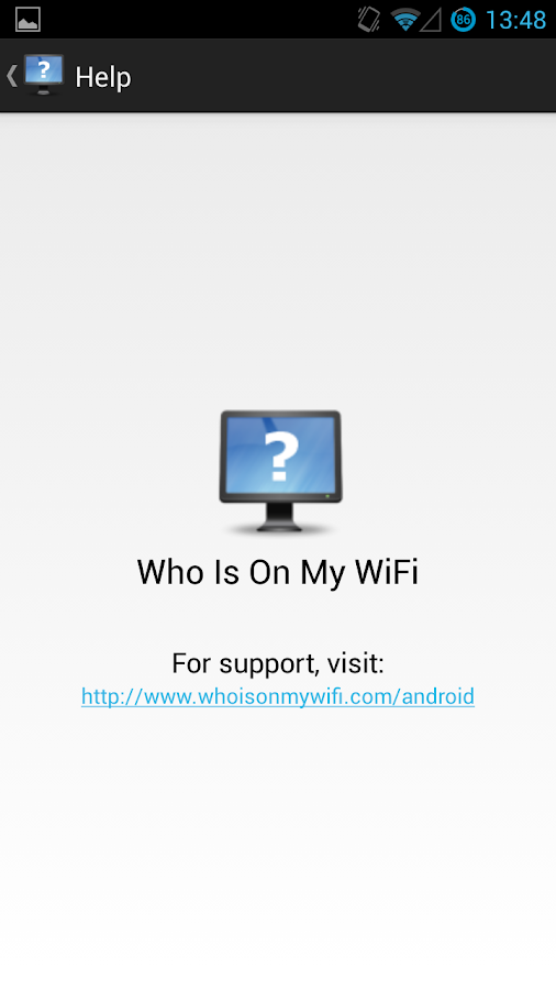 Who Is On My Wifi- screenshot