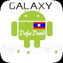 Galaxy DefaDroid (Lao Font) icon