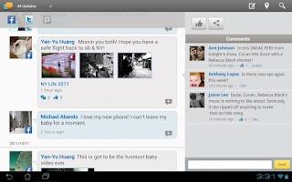Screenshot of BuddyBuzz