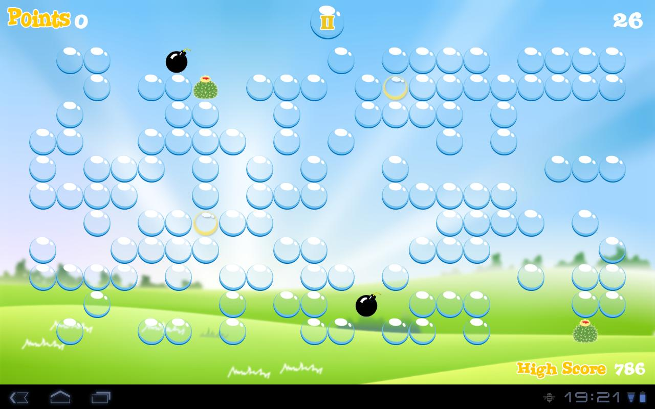 Bubble for tablet - screenshot