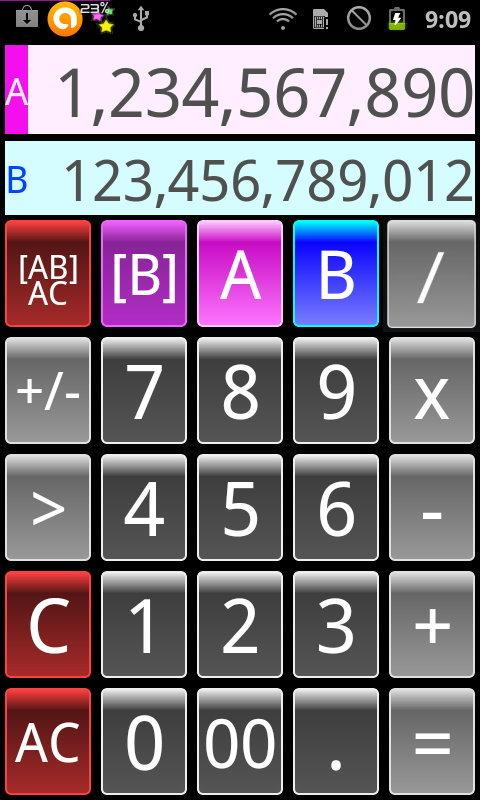 Dual Calculator Twin Free - screenshot