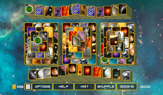 Mahjong Galaxy Space - Mahjongg with many levels- screenshot thumbnail