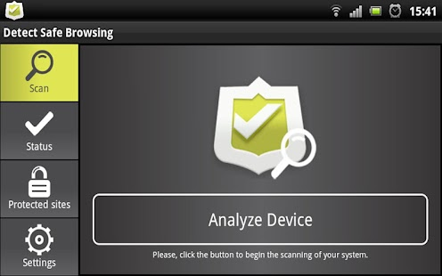 Detect Safe Browsing - screenshot thumbnail