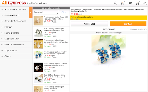AliExpress - screenshot thumbnail