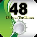 48 Hour Tee Times logo