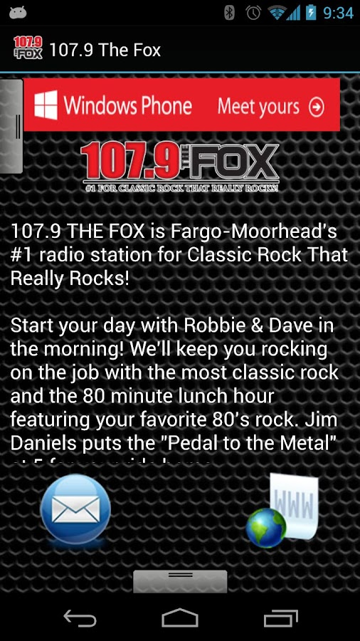 107.9 The Fox - screenshot