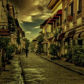 my way by Lhito  Trinidad - City,  Street & Park  Neighborhoods