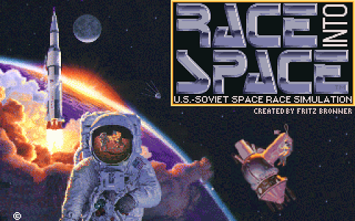 Race Into Space Pro