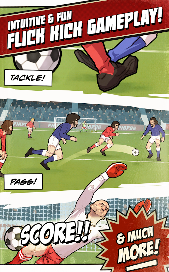 Flick Kick Football Legends - screenshot