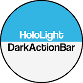 Dark ActionBar Light CM Theme