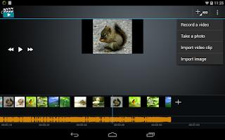 Screenshot of Video Maker Movie Editor