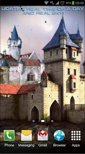 Castle 3D Pro live wallpaper