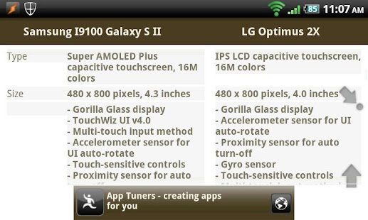 Phone Genie - GSMArena Browser Screenshot 4