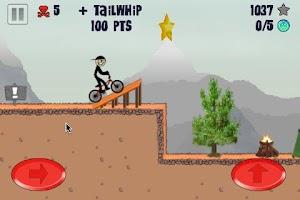 Screenshot of Stickman BMX