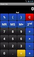 Screenshot of Shake Calc - Calculator