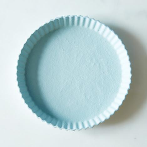 Blue Tart Plate