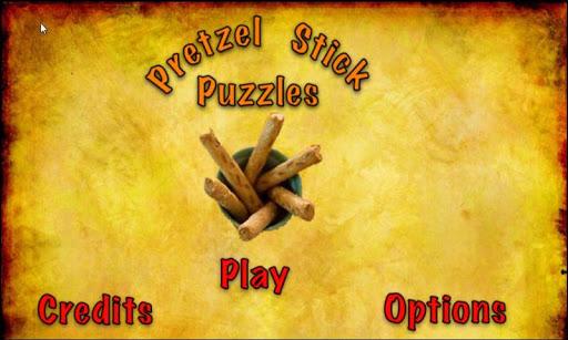 Pretzel Stick Puzzles