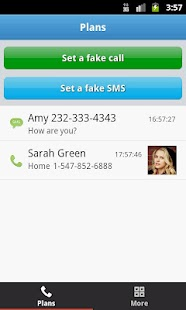Mr Caller Free (Fake Call&SMS) Screenshot 1