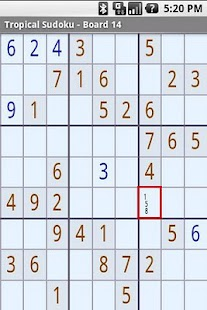 Tropical Sudoku- screenshot thumbnail