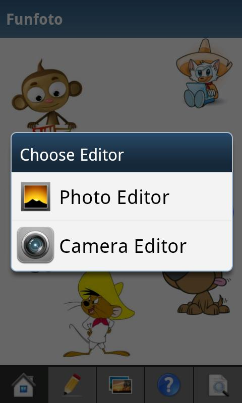 Funfoto - Funny Photo Editor - screenshot