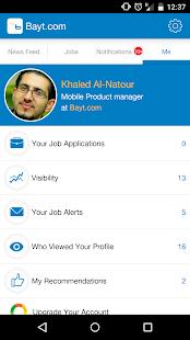 Bayt.com - screenshot thumbnail
