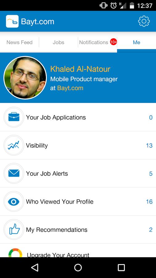 Bayt.com - screenshot