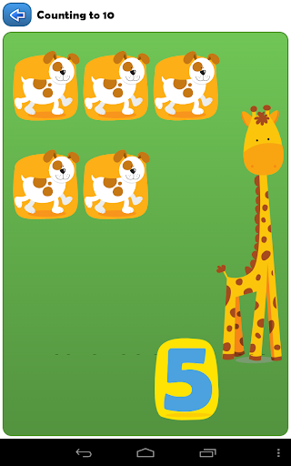 【免費教育App】Learn to count with animals *-APP點子
