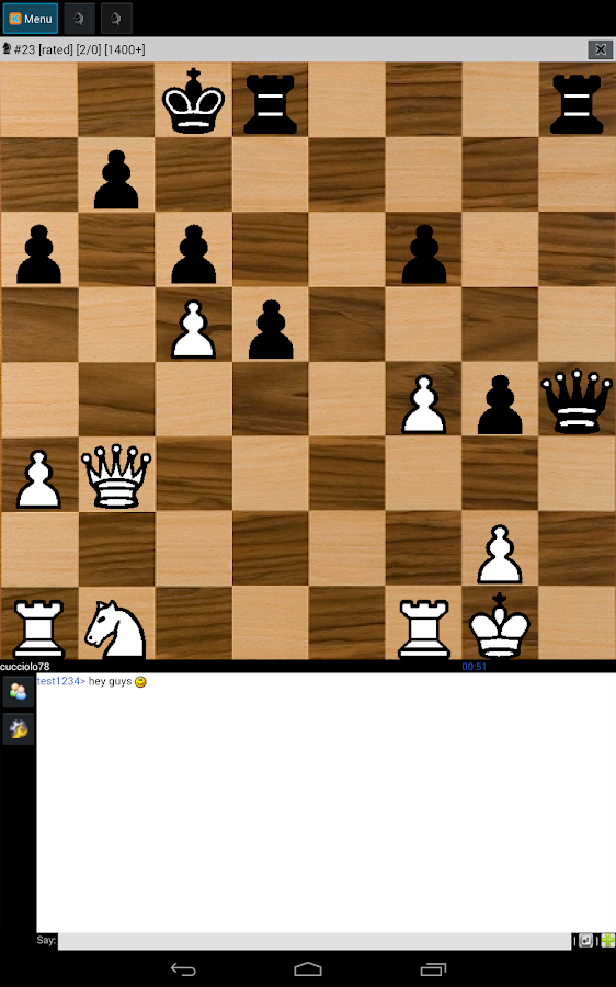 Chess online (free) - screenshot