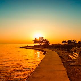sunset by Zeljko Jelavic - Novices Only Landscapes (  )