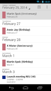 BirthDays screenshot 4