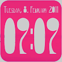 Clock Widget digital 2×2 logo