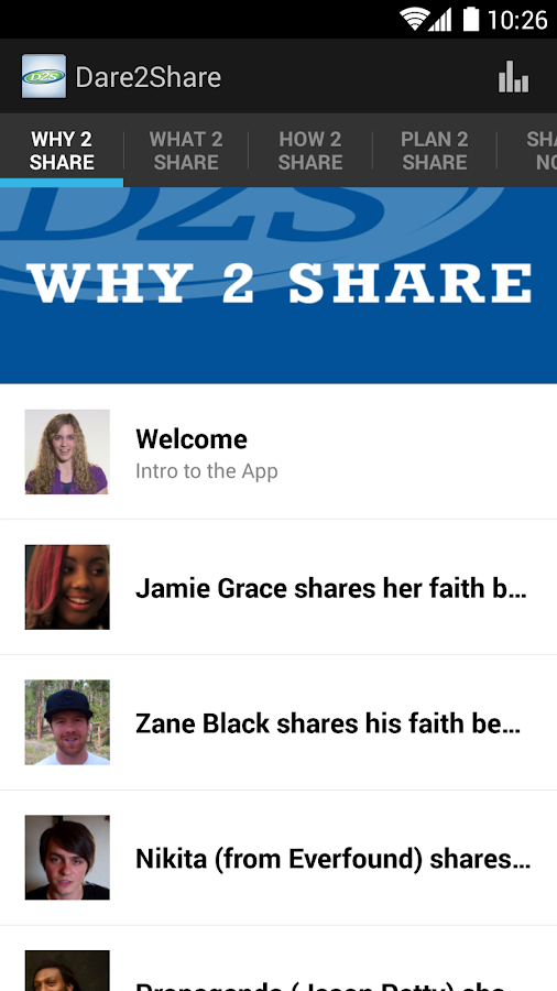 Dare 2 Share- screenshot