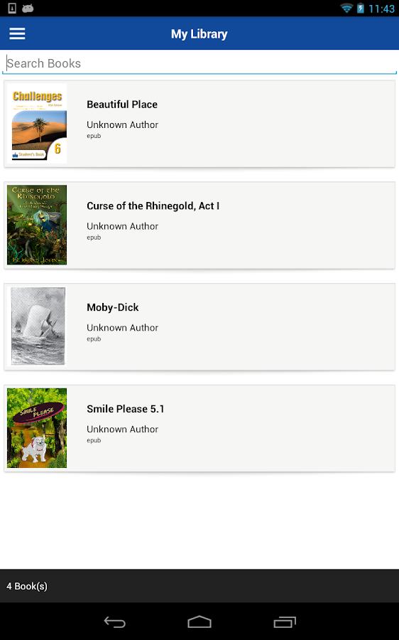 Lektz eBook Reader - screenshot