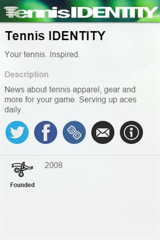 玩免費運動APP|下載Tennis IDENTITY app不用錢|硬是要APP