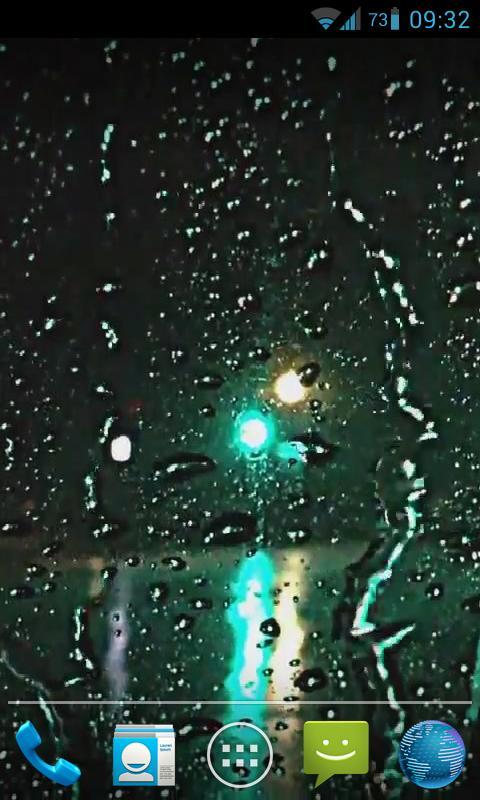 Rain Drops Live Wallpaper HD- screenshot