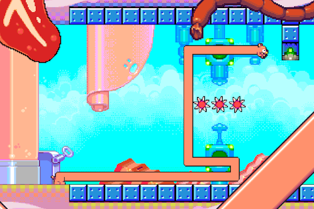 Silly Sausage in Meat Land screenshot