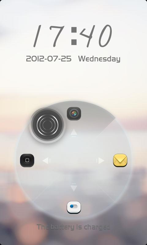 ZANYWAY GO LOCKER THEME - screenshot