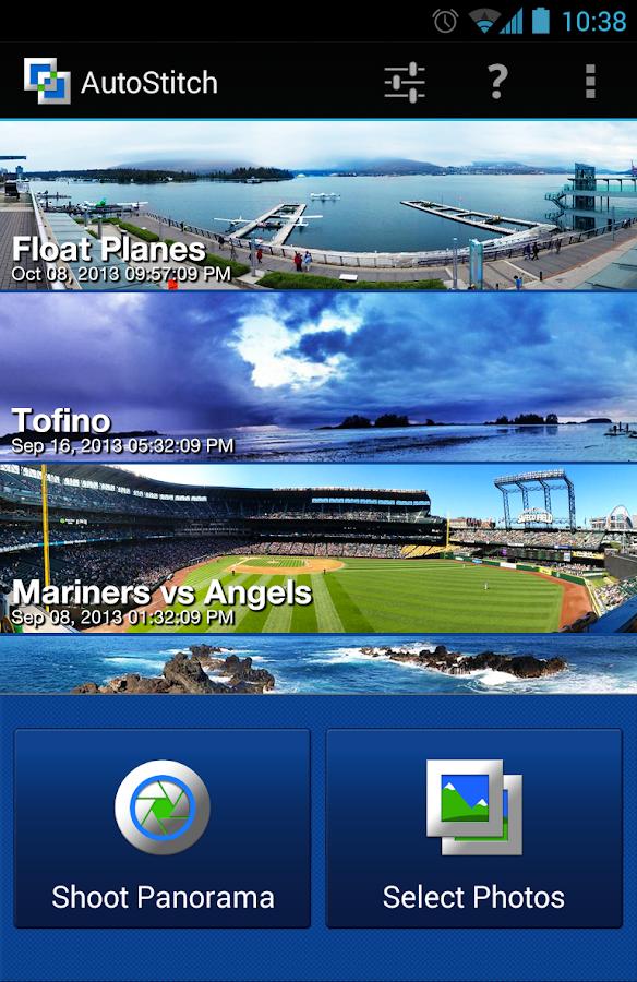 AutoStitch Panorama Pro - screenshot