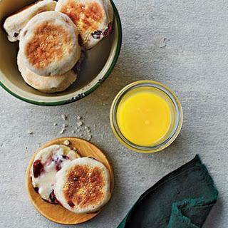 Cranberry English Muffins