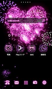 可愛換裝桌布★Pinky fireworks